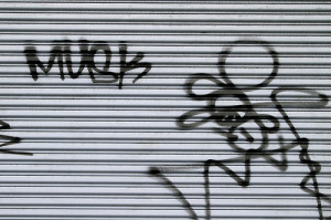 how to remove graffiti from garage door. Black Bedroom Furniture Sets. Home Design Ideas
